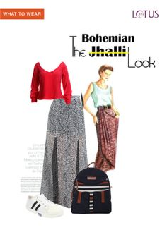 Exclusive Look by Shivani Midi Skirt Outfit, Skirt Outfits, Backpack Online, Blue Canvas, Canvas Backpack, Sneaker Brands, Vip, What To Wear, Desktop
