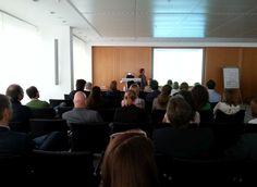 "Insights ""Social Media, Kunst + Finanzen"" am 23.06.2014: Vortrag Birgitta Janke, DZ Bank #smcffm"