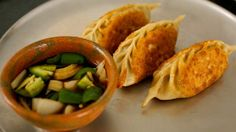 fried mandu - made this both steamed and fried, so delicious.