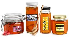 Beekeeping Supplies and Containers, Glass & Plastic Honey Containers
