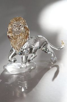 Swarovski Crystal Disney Collection The Lion King Mufasa -- More info could be found at the image url. (This is an affiliate link and I receive a commission for the sales)