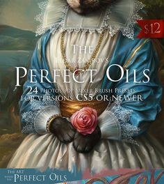 Buy The Perfect Oils. Part 24 Mixer Brush Presets for Photoshop by Ldarro on GraphicRiver. Since 2011 I started creating these Mixer brush presets working on various art and trying to reach the impression and. Photoshop Elements, Actions Photoshop, Photoshop Brushes, Photoshop Tutorial, Photoshop Ideas, Photoshop Design, Adobe Photoshop, Nikon D5200, Photoshop Celebrities