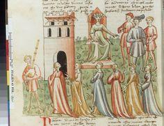 Italien 63, fol. 10v, Pampinea gouvernant boccace, decameron florence 1427