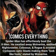 Fun fact-Spider man is a beast