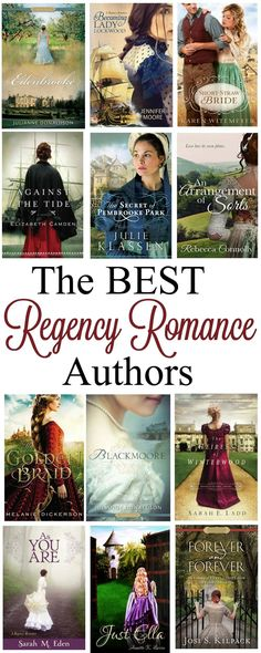 If you love to read Historical Fiction look no further than this Top Regency Romance Authors List! A collection of the best Clean Romance Authors to find a plethora of books to fill the hours!