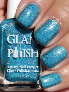 Glam Polish Paradise (LE Got The Blues Trio) // kelliegonzo.com
