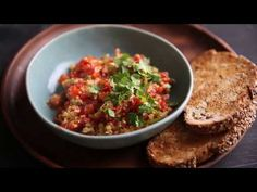 How to make menemen the most delicious turkish scrambled egg recipe {with video} on DrizzleandDip - A beautiful food photography blog