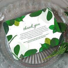 Nature Lovers Plantable Wedding Favors