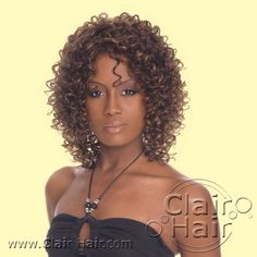 sprial hair style | wigs spiral curl spiral curls jazz up both short and long styles ...