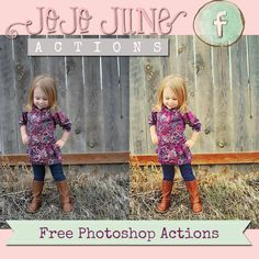 Newly released FREE Adobe Photoshop actions