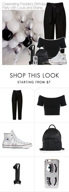 """""""Freddie's Birthday Party! x"""" by princessmickiex ❤ liked on Polyvore featuring GET LOST, Miss Selfridge, Converse, Alexander Wang, Chiara Ferragni and ASOS"""