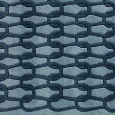 INGRID Rug in shades of blue. Sculpted motif evoking a steel weave , or perhaps a little equestrian. Standard 2 x 3 m or custom-made in 60 colours and size to choice Ligne Roset, Shades Of Blue, Equestrian, Sculpting, Weaving, Colours, Flooring, Steel, Rugs