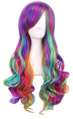 Rainbow Wig