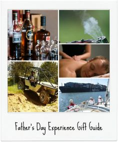 Father's Day 2014 Experience Gift Guide - full of unique gift ideas to make this Father's Day one to remember! #fathersday #giftideas #giftsfordads #fathersdaygifts #fathersdaygiftideas #newblogpost