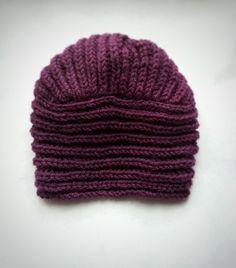casquillo del knit turbante sombrero moda Knit Hat por Gaborylia
