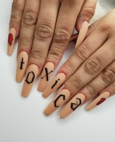 Funky Nails, Best Acrylic Nails, Press On Nails, Nail Inspo, You Nailed It, Piercing, Manicure, Nail Art, Halloween