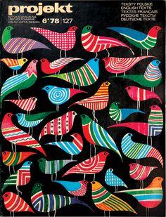 Projekt magazine, No. 6, 1978  Artwork by Hubert Hilscher  via Unit Editions