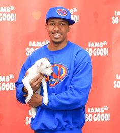 It's hard to say which is cuter: the guy or the dog. See 34 hot guys holding puppies, including Nick Cannon, and be the judge. Nick Cannon, Mans Best Friend, Cute Guys, Gorgeous Men, Dog Days, Puppy Love, Cuddling, Black Men, Dog Lovers
