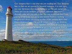 Trey's favorite inspirational quote!