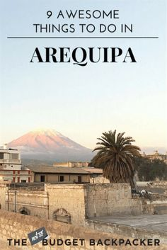 From eating amazing food, hanging out with alpacas and hiking the Colca Canyon here's all the things to do in Arequipa, Peru. Things to do in Arequipa, Arequipa Peru, Arequipa travel, Peru travel, 48 hours in Arequipa, Where to go in Peru, Things to do in Peru, What to do in Arequipa, What to do in Peru