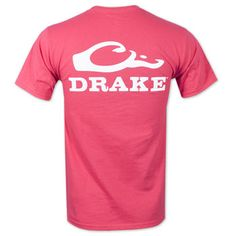 0e5781e1cad Drake Waterfowl Systems Logo T-Shirt - Pink Country Girl Style