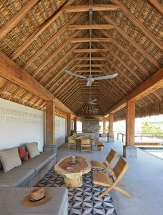 diseño sala casa playa