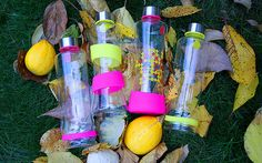 EQUA CMYK glass bottles&fall decoration  #drop #squeeze #fallaccessories #chic #reusable #ecological #style