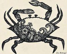 30 Best Constellation Tattoos & Crab Tattoos For Cancer Zodiac Signs Cancer Sign Tattoos, Cancer Crab Tattoo, Zodiac Sign Tattoos, Zodiac Signs, Tattoo Tribal, Tribal Sleeve Tattoos, Body Art Tattoos, New Tattoos, Wing Tattoos