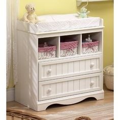 Plenty Of Compartments For Storage! Changing Table ...
