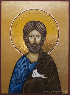 www.slowikon.pl - pracownia ikon i gobelinów: Galeria ikon - Ikona Świętego Józefa, st Josef
