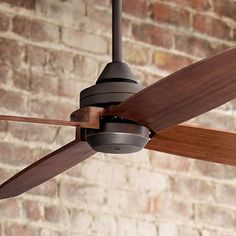 "52"" Casa Vieja Impel Bronze Damp Ceiling Fan - #4F597 | www.lampsplus.com"