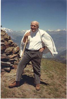 A Lowly Handmaid - thespiralboundmastermind:   Saint John Paul II, in...