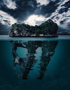 Posible póster de Jurassic World 2  Bastante impresionante #JurassicWorld #dinosaurs #JurassicPark #Island