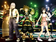 """""""wo generations of keyblade masters"""" I still really want to play the games that aren't for the DS :("""