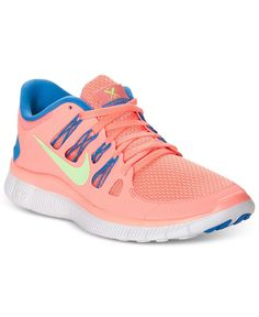 Nike Womens Shoes, Free 5.0  Sneakers - Finish Line Athletic Shoes - Shoes - Macys