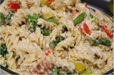 Wicked Yummy: Chicken, Veggies, and Pasta in a Creamy Light Cheese Sauce