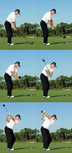 As you can imagine one of the most important parts of being a successful golf player is learning exactly how to swing and hit the ball correctly. If you have a poor golf swing, it can work against you dramatically and cause you numer Golf Handicap, Golf Tips Driving, Golf Holidays, Golf Putting Tips, Golf Practice, Golf Drivers, Golf Instruction, Golf Exercises, Workouts