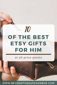10 of the Most Useful Etsy Gifts for Him | Looking for practical gifts he'll actually use? Here are 10 of the best Etsy gifts for him that are sure to impress every guy on your list!