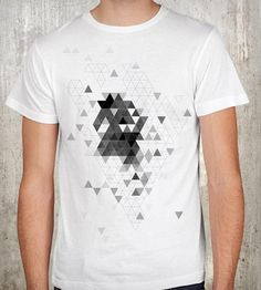 Men's Triangle Explosion T-Shirt | Men T-Shirts | Crawlspace Studios | Scoutmob Shoppe | Product Detail