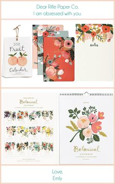 Rifle Paper Co. They use great color schemes! They remind of the ones you're liking?