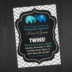 38 Best Twins Baby Shower Images Twin Baby Showers