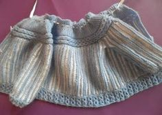This Pin was discovered by any Baby Girl Cardigans, Baby Cardigan, Baby Sweaters, Spool Knitting, Knitting For Kids, Knitting Patterns Free, Knit Patterns, Crochet Baby, Knit Crochet