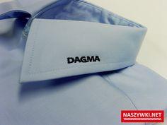 koszula znakowana haftem bezpośrednim