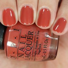 OPI Yank My Doodle | Fall 2016 Washington D.C. Collection | Peachy Polish | www.ScarlettAvery.com