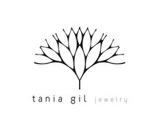 Tania Gil jewelry | Logo & Photography by Andreia Gil, via Behance