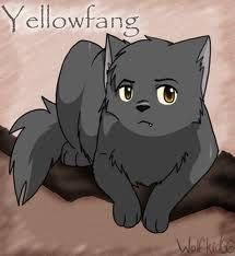 Yellowfang killed by smoke inhalation. She never deserved to die. Her only sin was a scathing tongue and the love that was not meant to be....