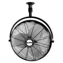 """View the Air King 9320 20"""" 3670 CFM 3-Speed Industrial Grade Ceiling Mount Fan at Air King @ VentingDirect.com."""