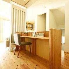 広島市中区Y様邸(防火地域木造3階建て・光冷暖導入物件):LDK・スタディスペース