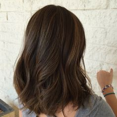 This is what I decided to dye my hair ( I got highlights) Dyed Hair Ombre, Dye My Hair, Medium Hair Styles, Curly Hair Styles, Brown Hair Balayage, Hair Highlights, Hair Color And Cut, Hair Colour, Brunette Hair