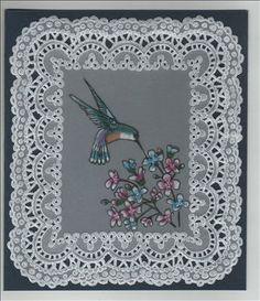 wit werk en kleurtjes ook uit parchment craft